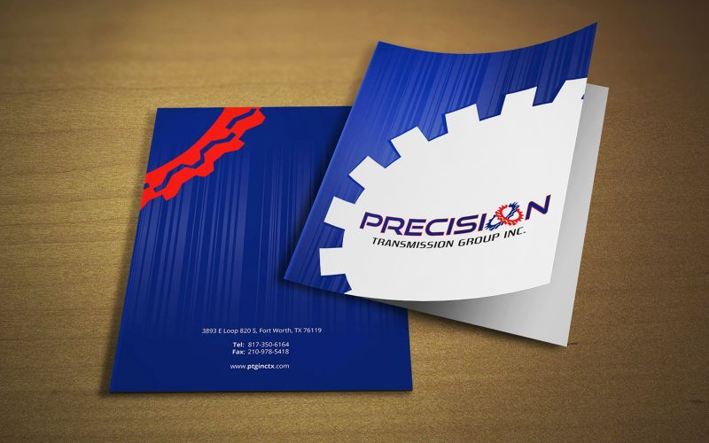 Precision Transmission Brochure Design