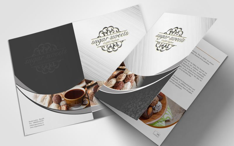 Sugar Sweets Brochure Design