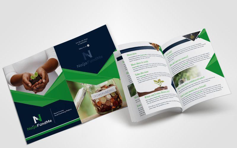 NaijaFundMe Corporate Profile Design