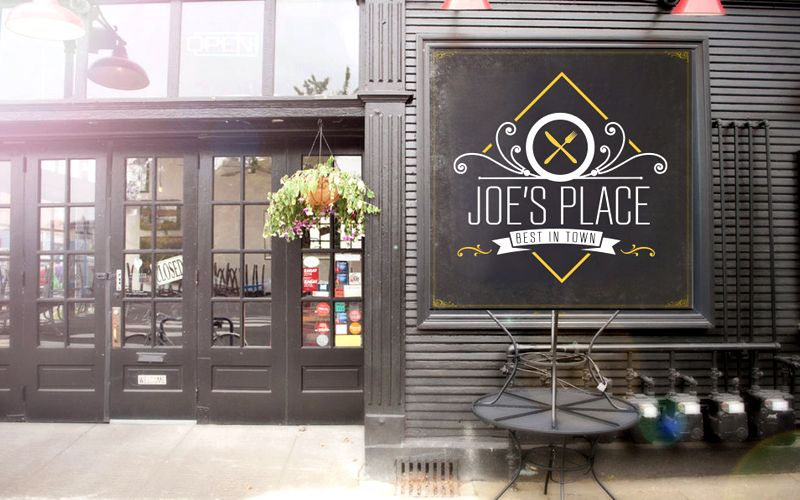 Joe's Place Logo Design