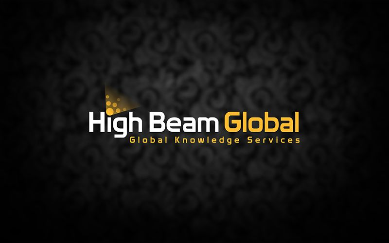 High Beam Logo Design