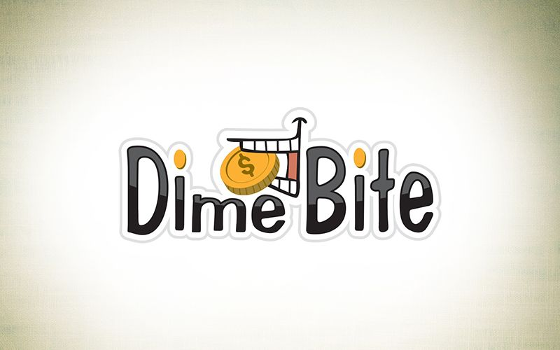 Dime Bite Logo Design