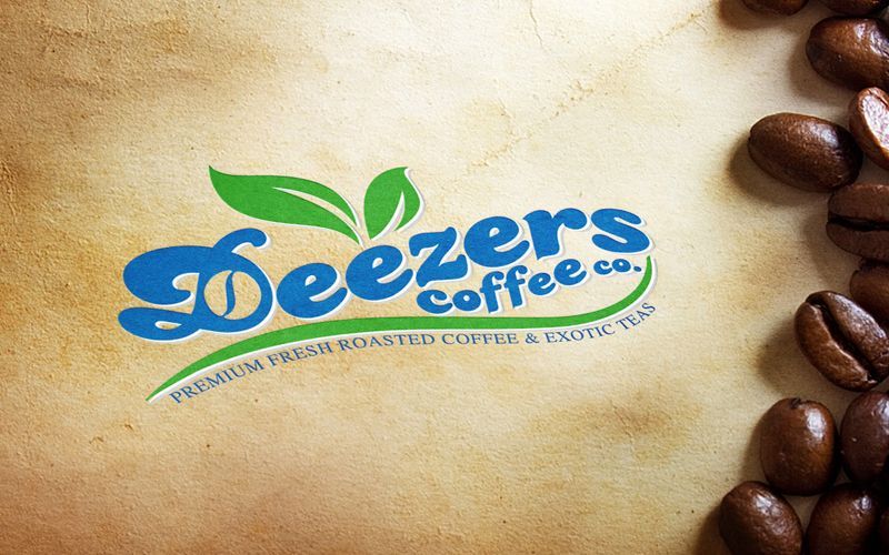 Deezers Coffee Logo Design