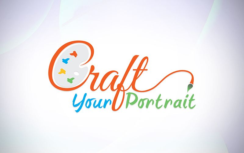 Craft Your Portrait Logo Design