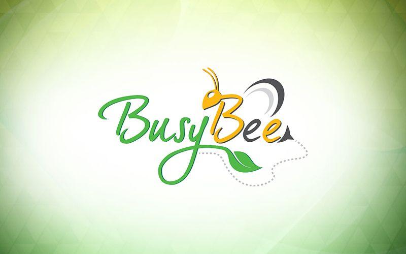 Busy Bee Logo Design