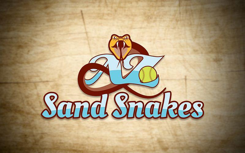 AZ Sand Snake Logo Design