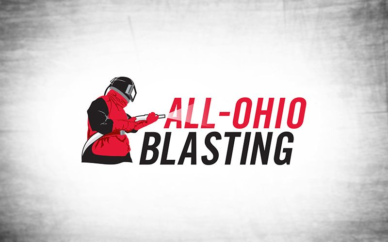 All Ohio Blasting Logo Design