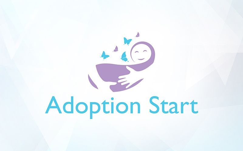 Adoption Start Logo Design