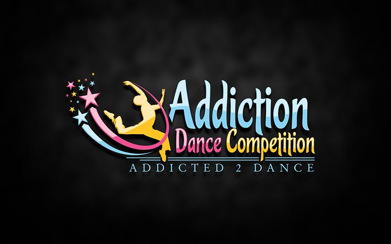 Addiction Dance Logo Design