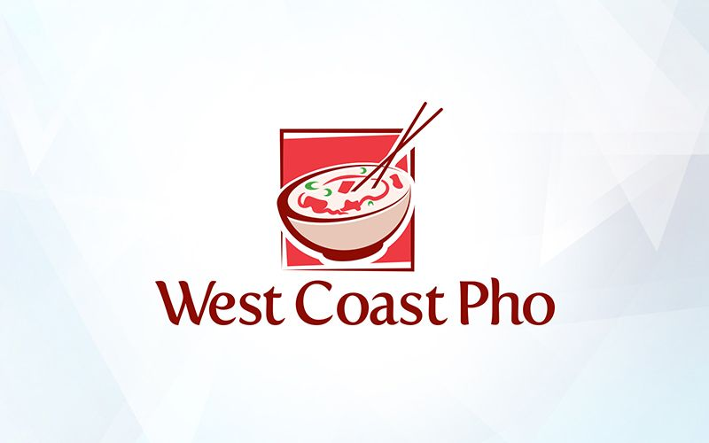 West Coast Pho Logo Design