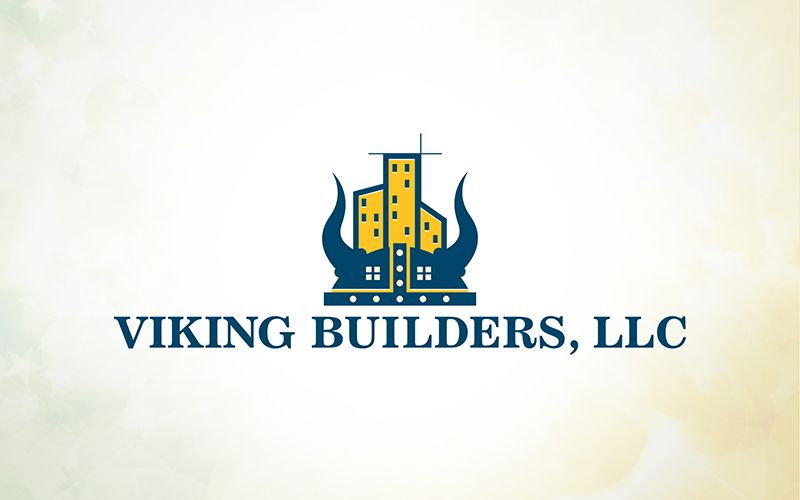 Viking Builders Logo Design