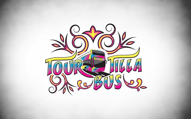 TourTilla Bus Logo Design