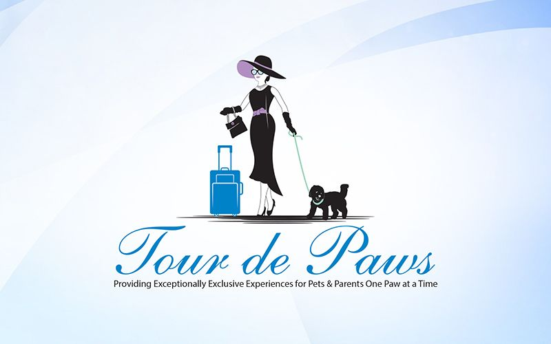 Tour de Paws Logo Design