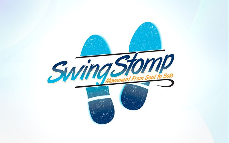 Swing Stomp Logo Design