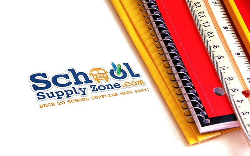 School Supplyzone Logo Design