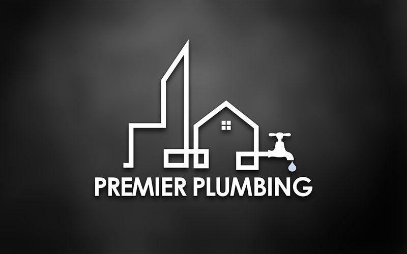 Premiere Plumbing Logo Design