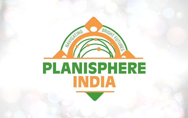 Planisphere India Logo Design