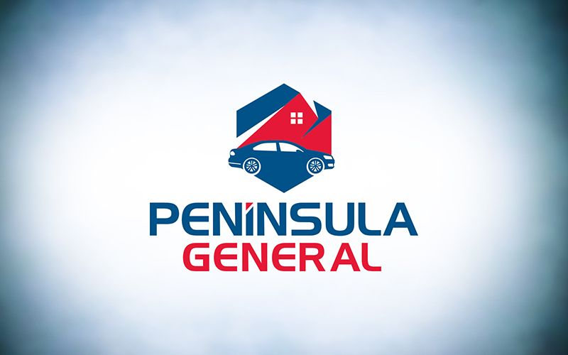 Peninsula General Logo Design