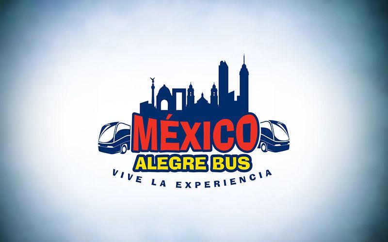 Mexico Alegre Bus Logo Design
