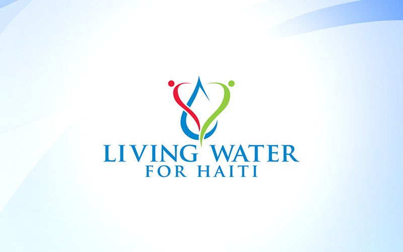 Living Water For Haiti Logo Design