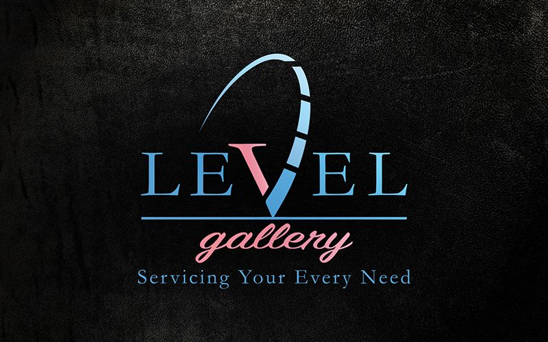 Level Gallery Logo Design