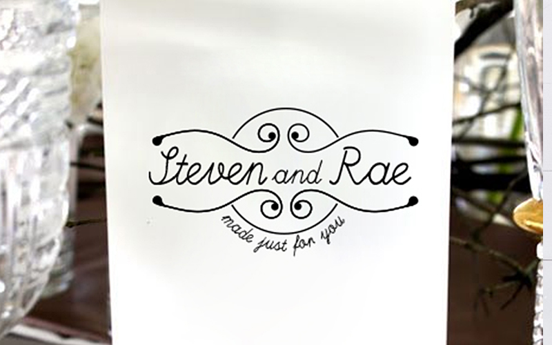 Steven and Rae Logo Design
