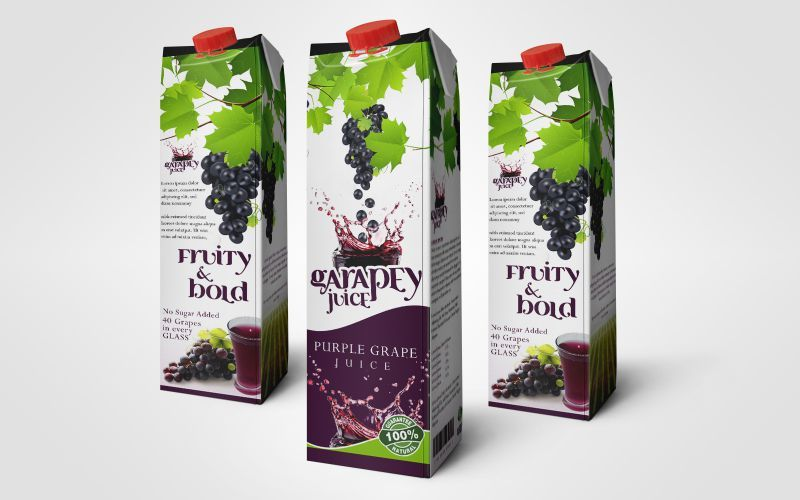 Grapey Juice Package Design