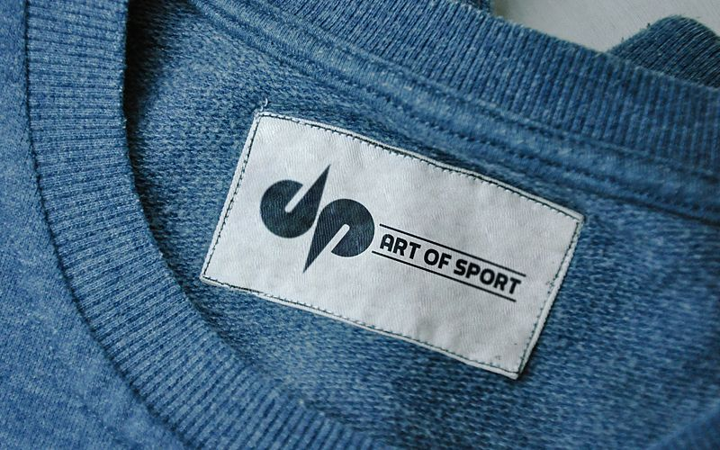 DP Art of Sport Label Design