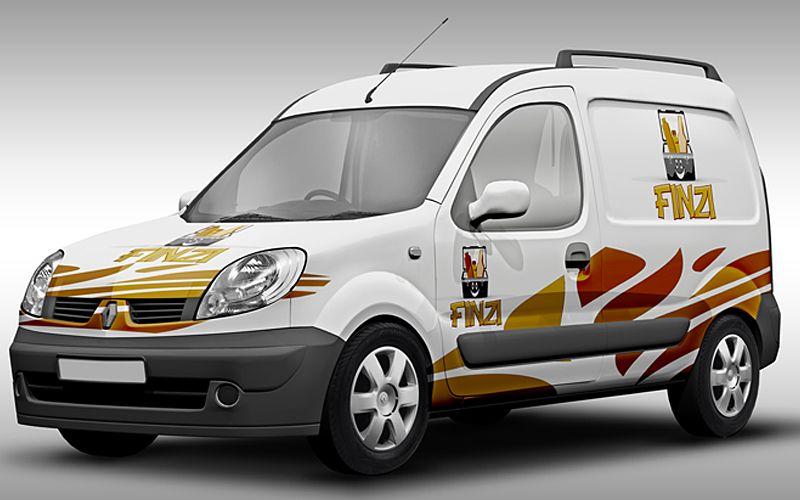 Finzi Vehicle Wrap Design