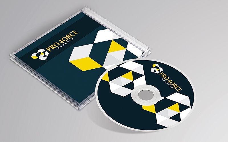ProForce CD Label Design