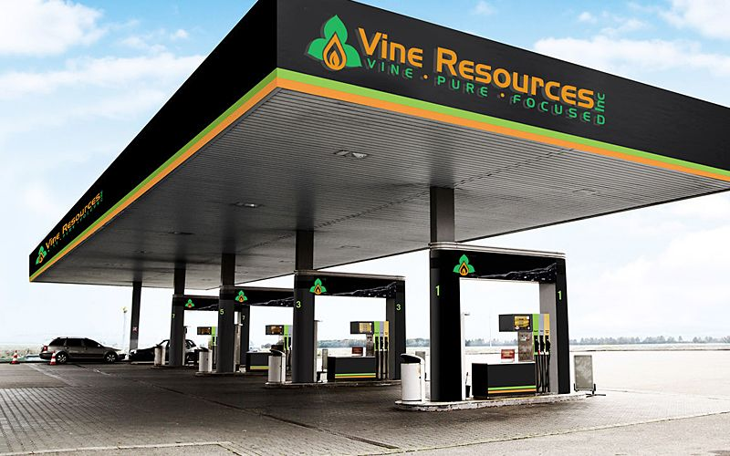 Vine Resource Signage Design