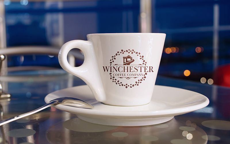 Winchester Coffee Label Design