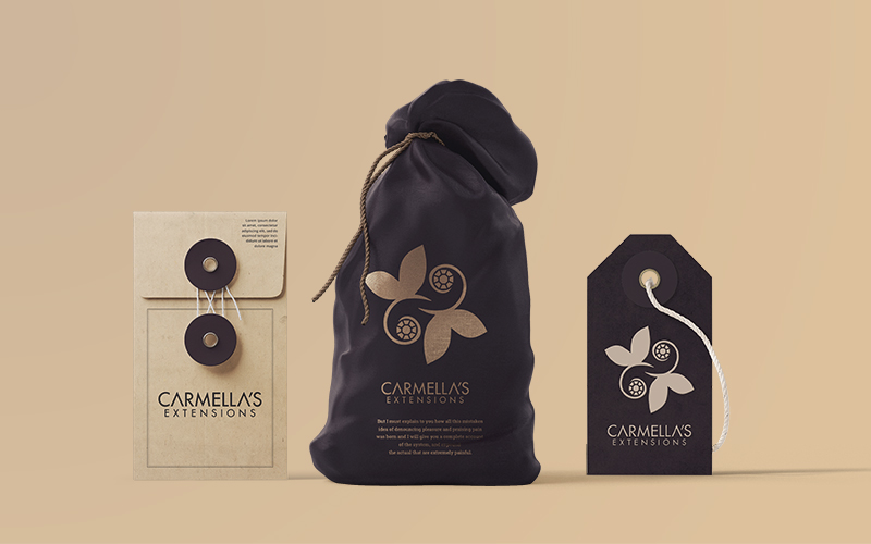 Carmellas Packaging Design