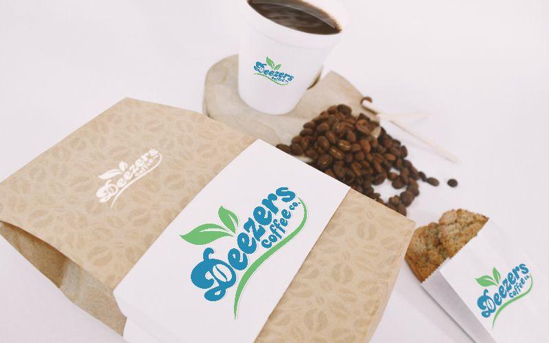 Deezers Coffee Packaging Design