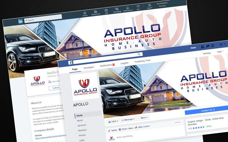 Apollo Insurance Social Media Design