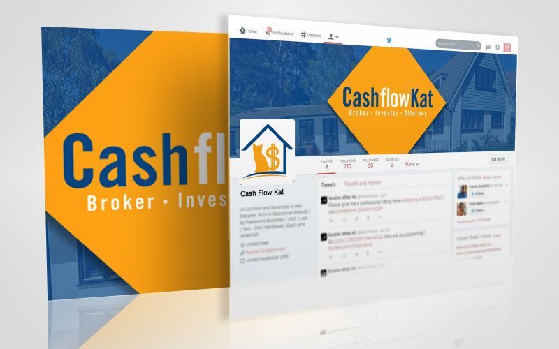 Cash Flow Kat Social Media Design