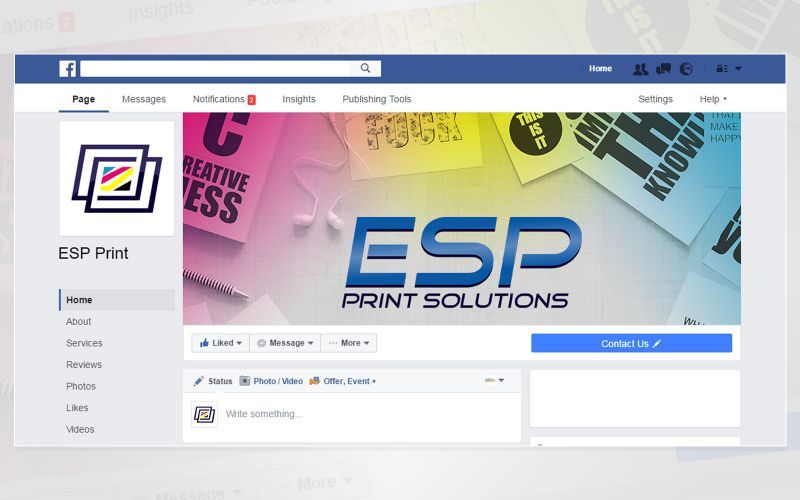 ESP Print Solution Social Media Design