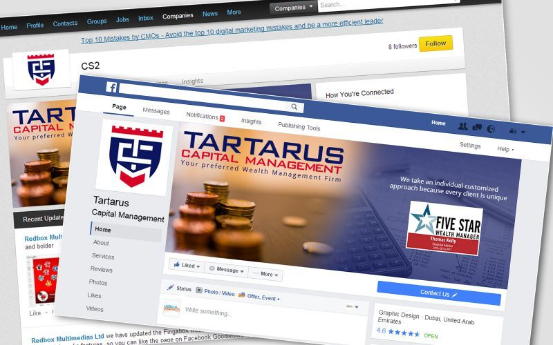 Tartarus Capital Social Media Design