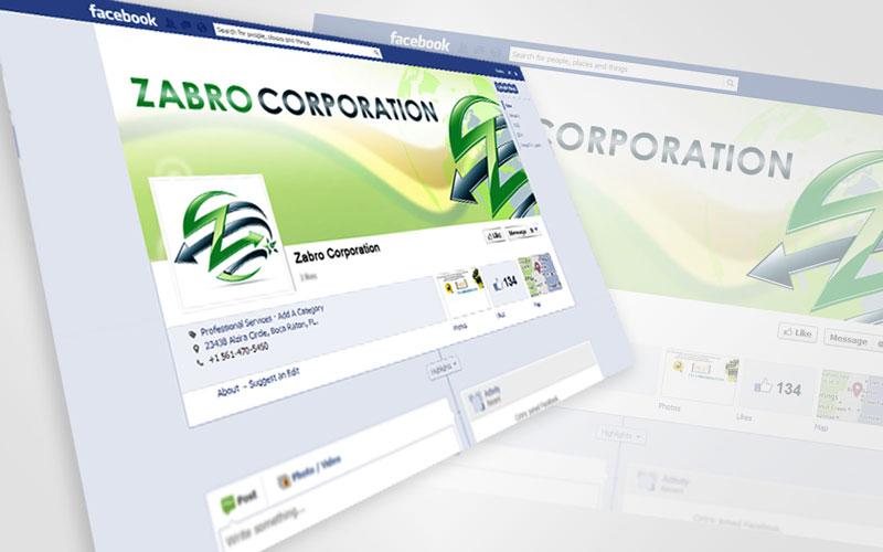 Zabro Corp. Social Media Design