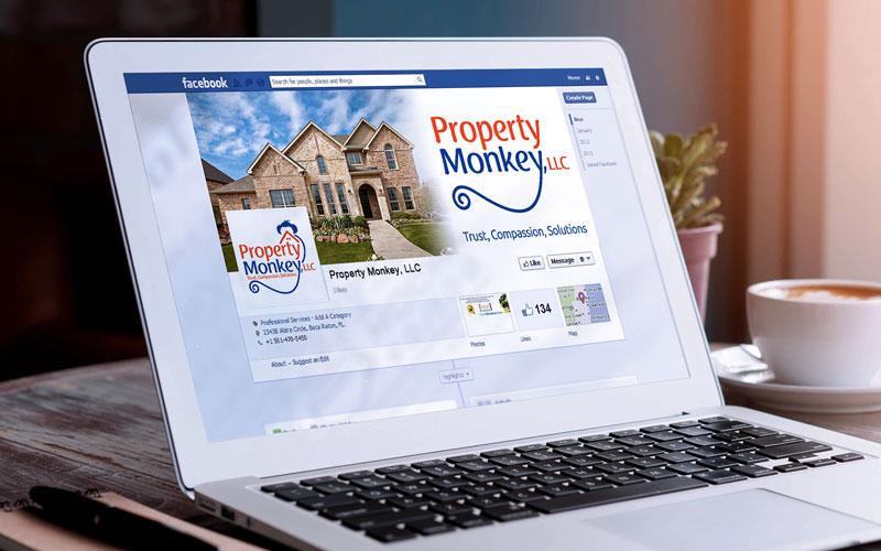 Property Monkey Social Media Design
