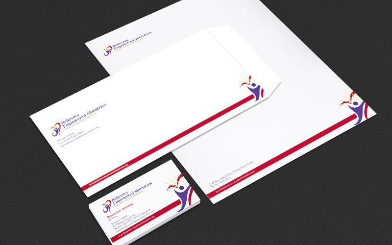 Empowered Believers Stationery Design