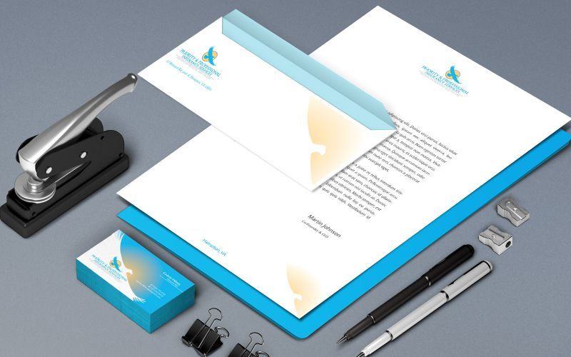 Priority and Professional Stationery Design