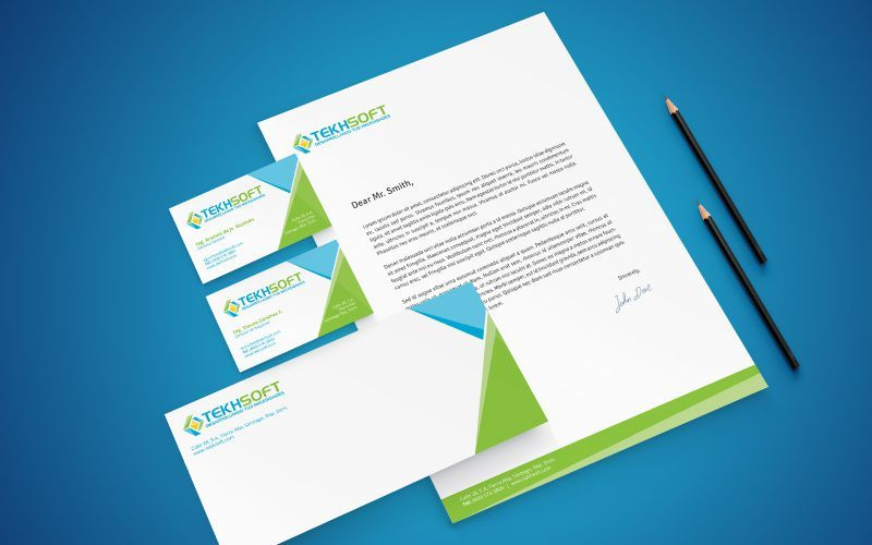 Tekhsoft Stationery Design