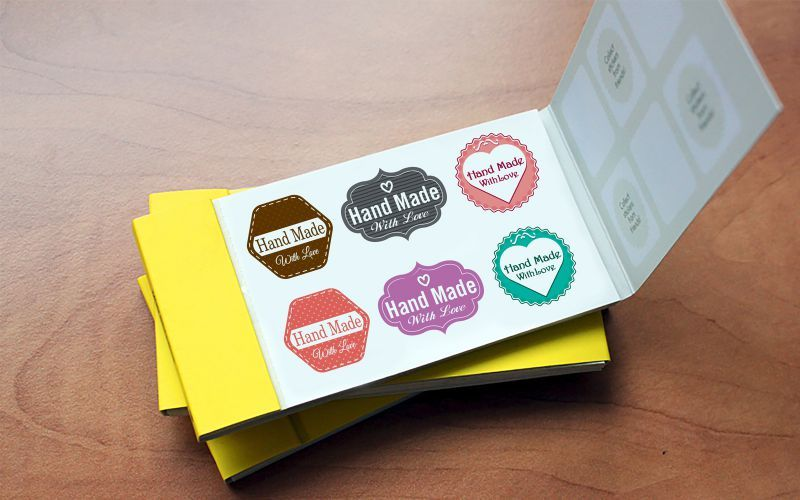 Sticker Book Design