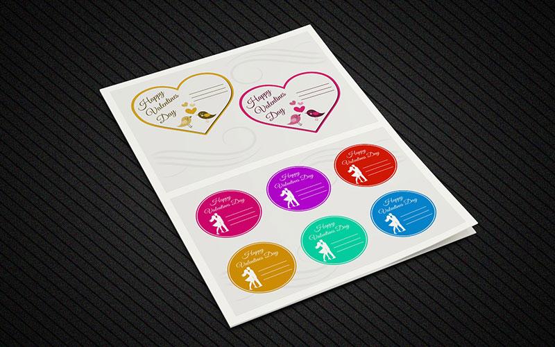 Occasion Sticker Book Design