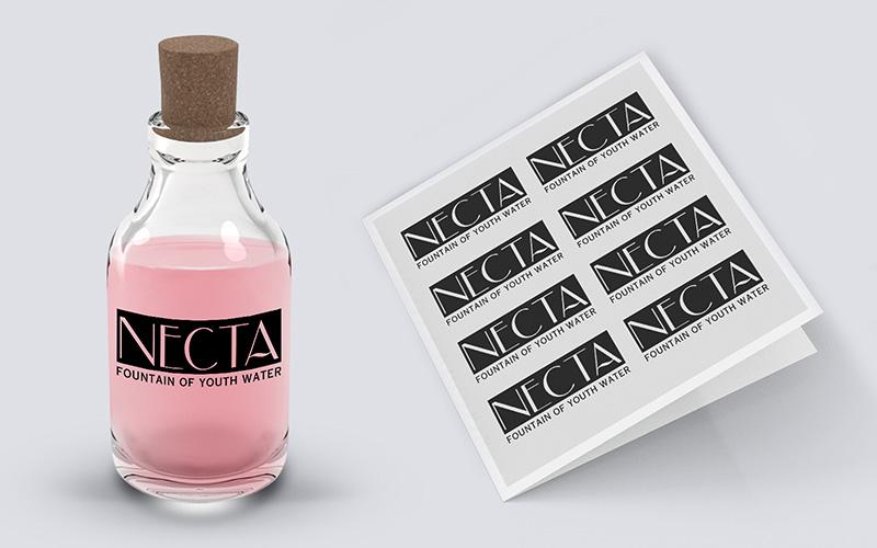 Bottle Label Sticker Design