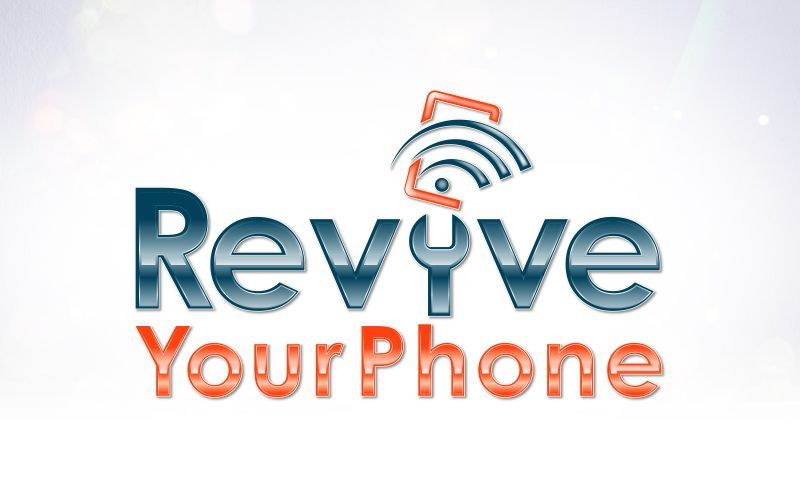Revive Your Phone 3D Logo Design