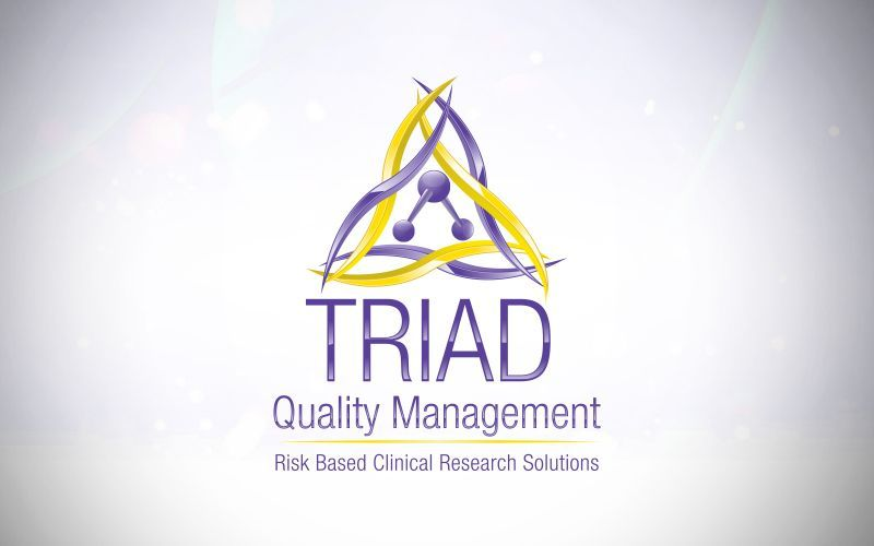 Triad Quality Management 3D Logo Design