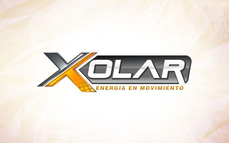 Xolar 3D Logo Design
