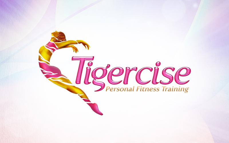 Tigercise 3D Logo Design